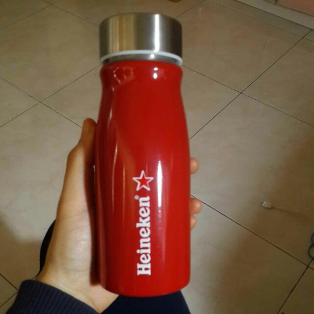Heineken造型曲線瓶 水瓶 水壺