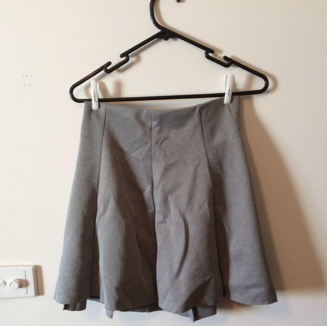 H&M Neoprene Skirt - Size 36