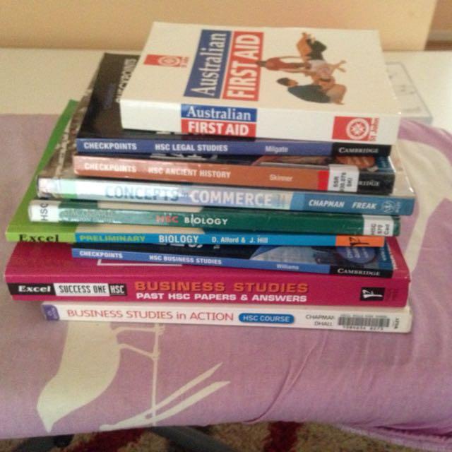 HSC Textbooks
