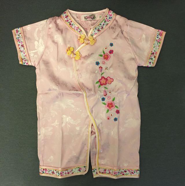 Infant Girl Cheongsam Suit