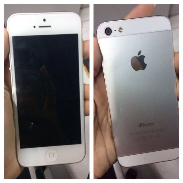 Iphone 5 16gb Putih! Mulus!!