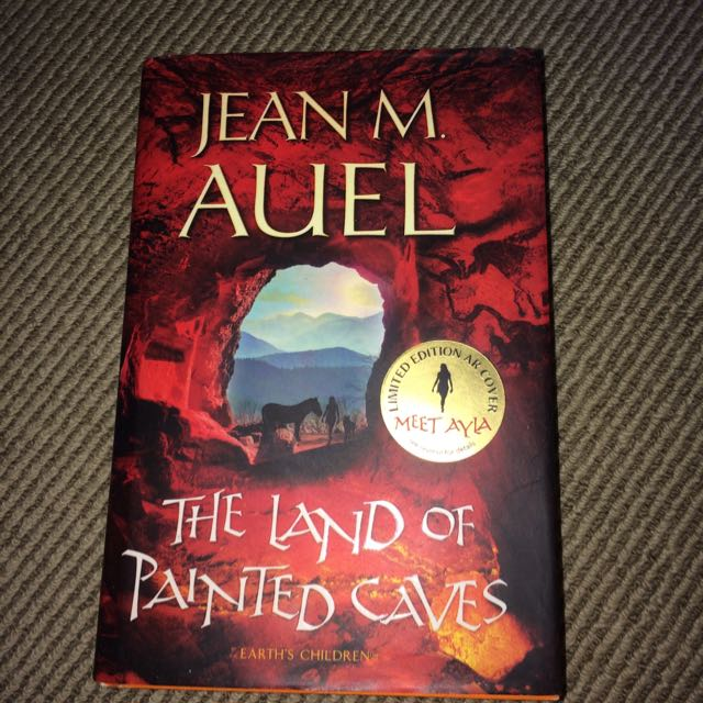 Jean M. Auel The Land Of Painted Caves