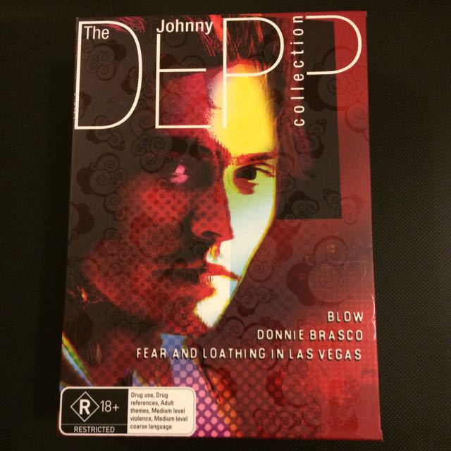 Johnny Depp 3 DVDs Set