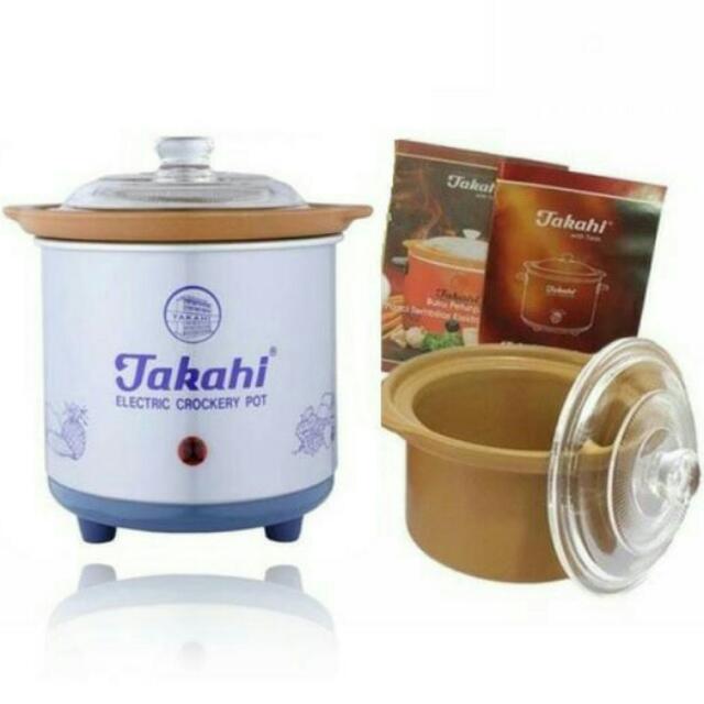 JUAL MURAAHHH...!!! Takahi Slow Cooker Type : 1188 0.7lt