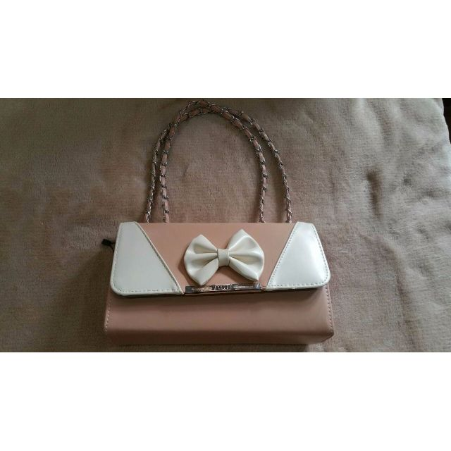 Korean style Pastel Pink Chain Bag