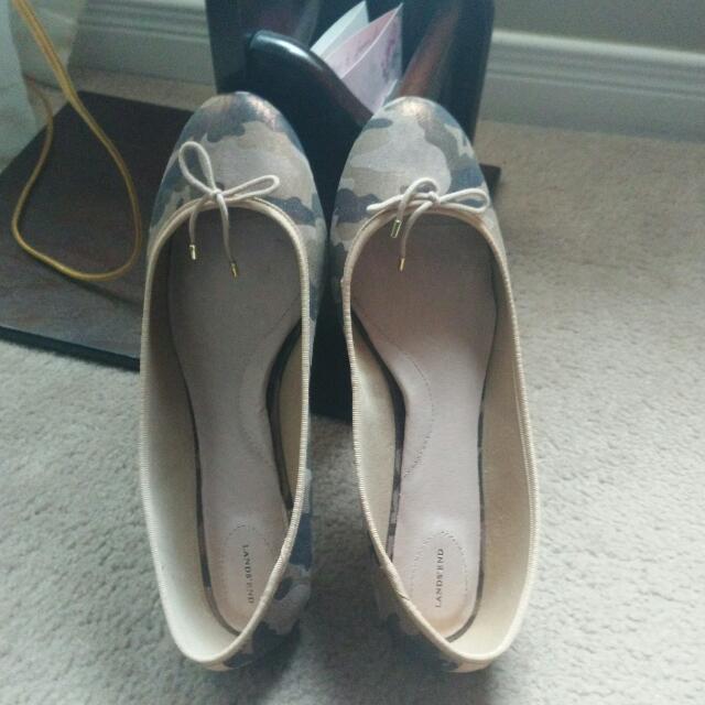 Lands End Women's Ballet Flat Shoes