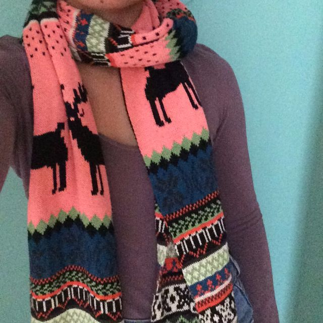 Long VALLEY GIRL SCARF