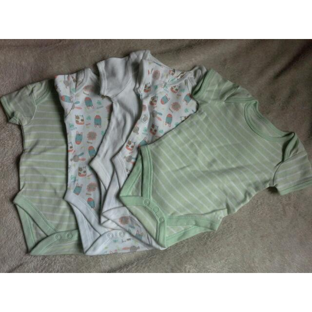Lot Of 5 Mothercare Onesies