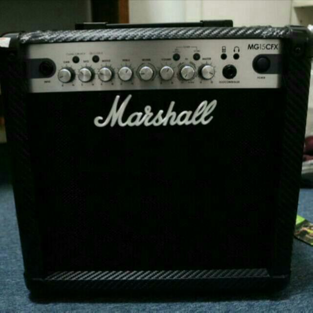 Marshall MG15CFX Amp