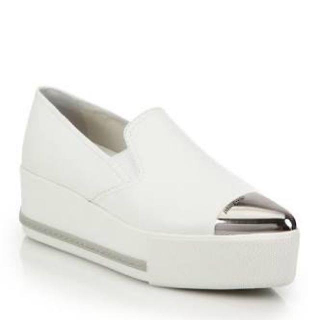 Miu Miu High Sole Sneakers