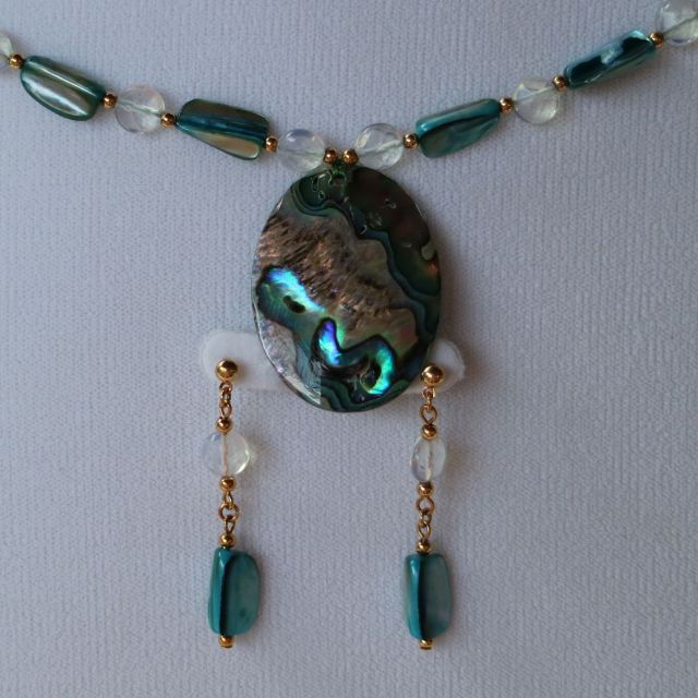 NECKLACE + EARRINGS - EXCLUSIVE RARE F.A.C JEWELLERY SET