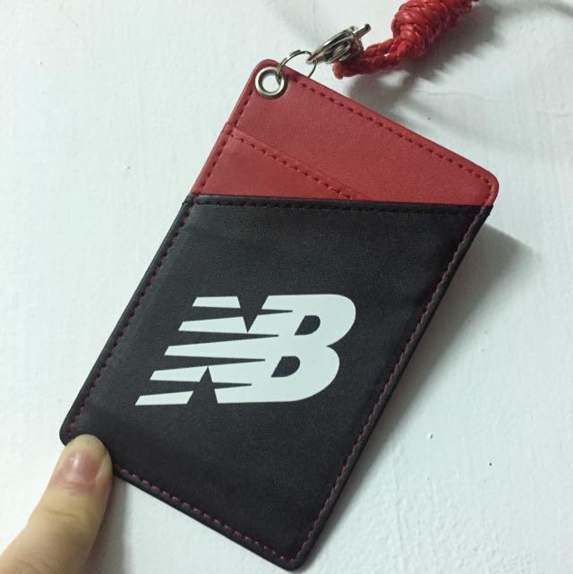 New Balance 卡套 悠遊卡套 皮套