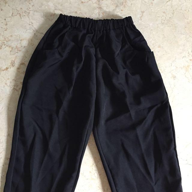 (New) Black Long Pants