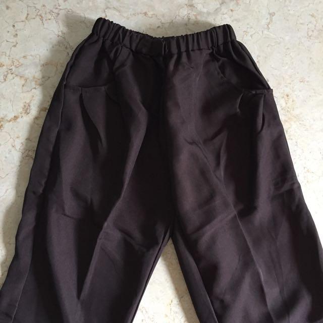 (New) Deep Brown Long Pants