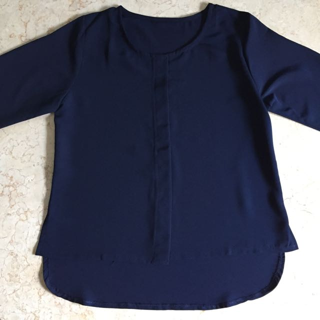 (New) Navy Blouse