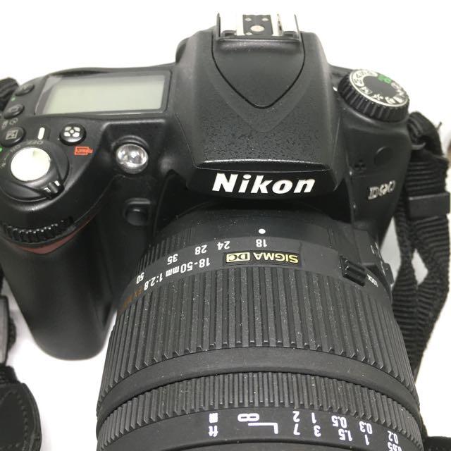 Nikon D90單眼相機