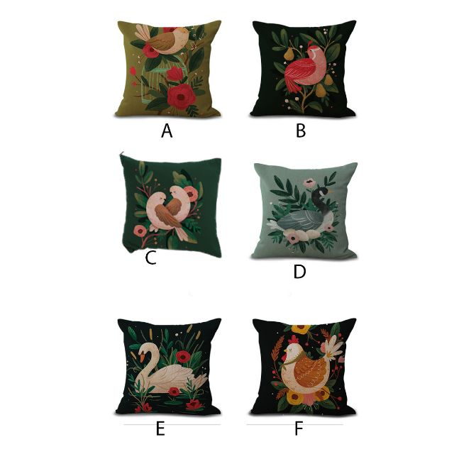 PC89 Canvas Pillowcase 43CM X 43CM
