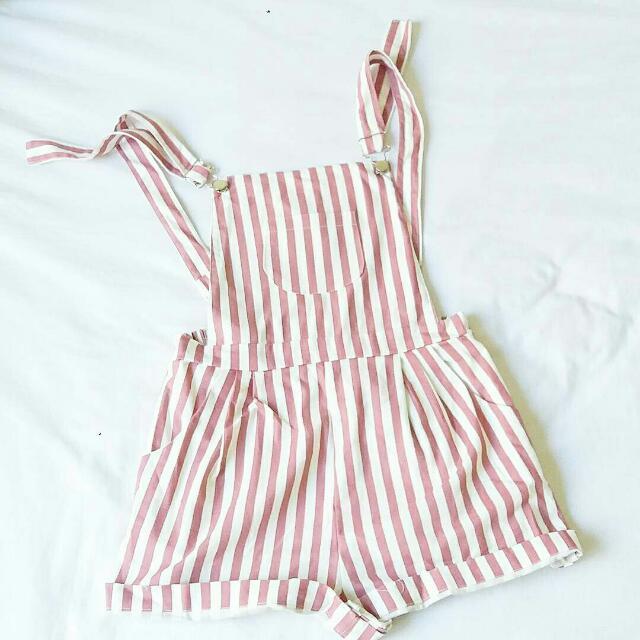Pink Strips Shorts