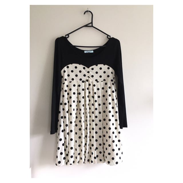 💚Polka dot Dress by DazzliN' (Japanese Brand)