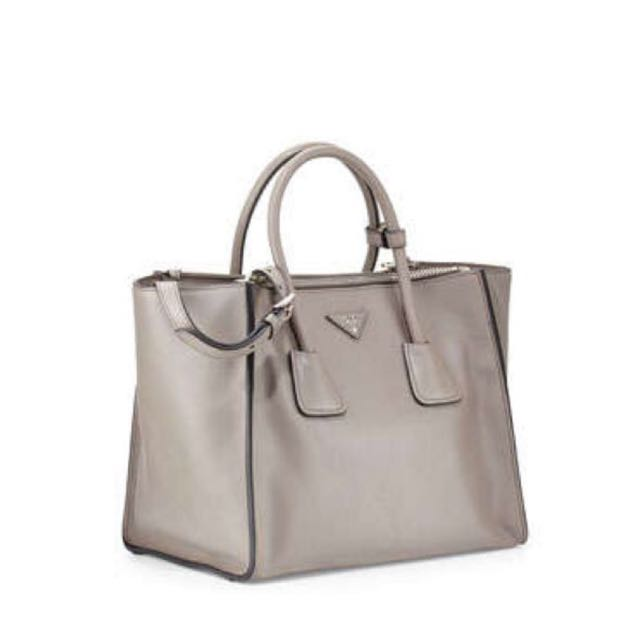 4ce2561de4 ... top quality prada glace calf leather tote luxury bags wallets on  carousell 661d4 3e4c4