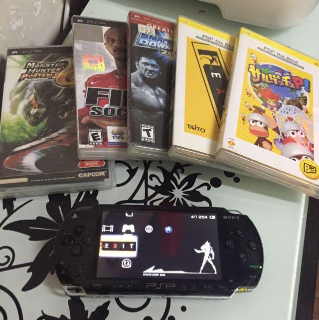 Psp 1000 Playstation Portable Ps