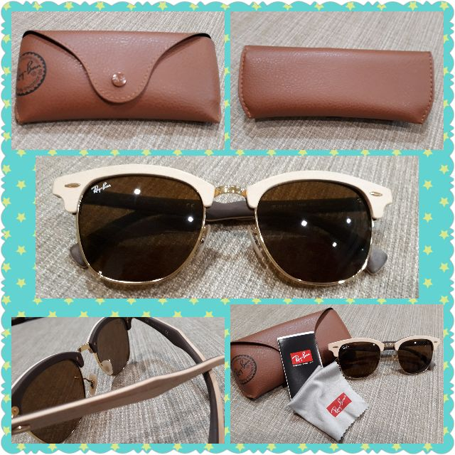 b52d16204e4bf ray-ban clubmaster wood