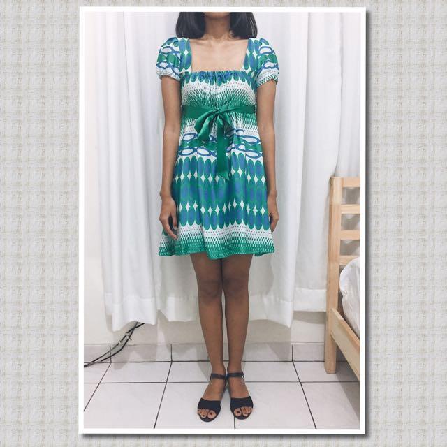 (REPRICE) Zara Satin Mini Dress