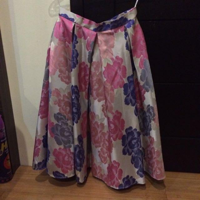 Shop At Velvet Flare Skirt