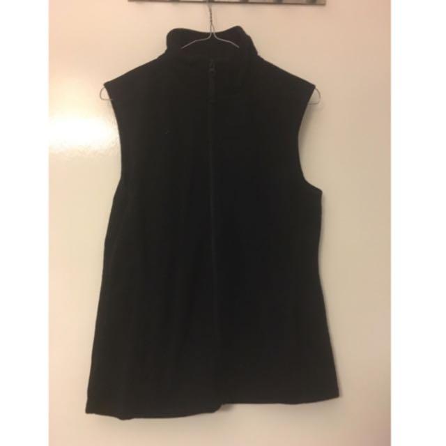 Sleeveless Polyester Vest