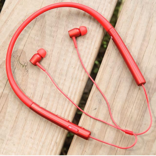 Sony MDR-EX750BT h.ear in 入耳式藍牙耳機(紅色)