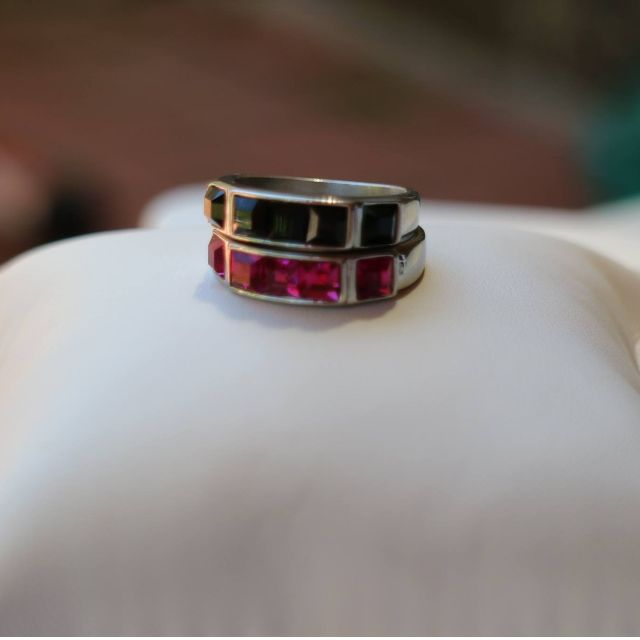 Stack Em Up! Rings - separate RRP:$54.95 (sold pending pink ring)