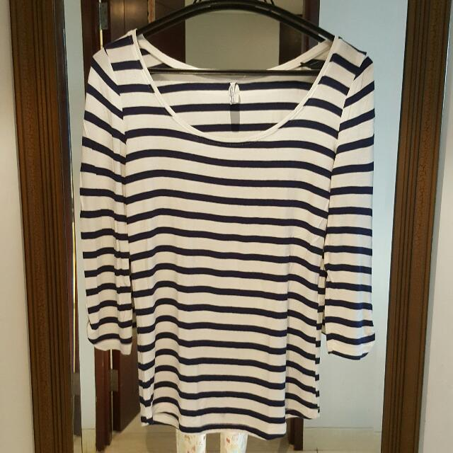 Stradivarius Stripe Top