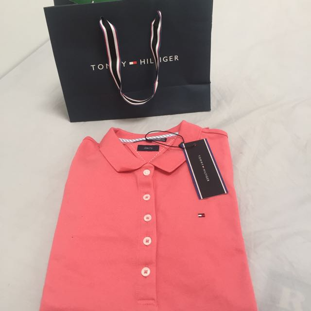 Tommy Hilfiger Polo Shirt Pink