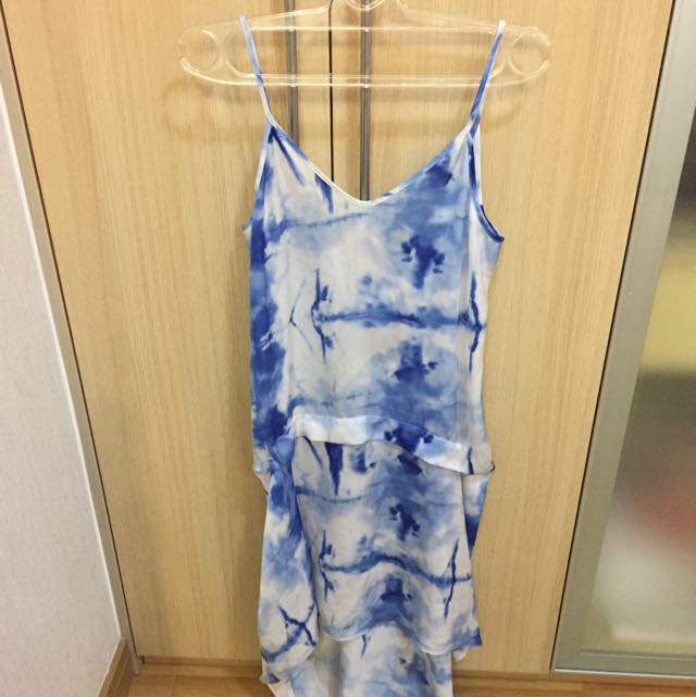 Topshop Summer Blue Dress Brand New