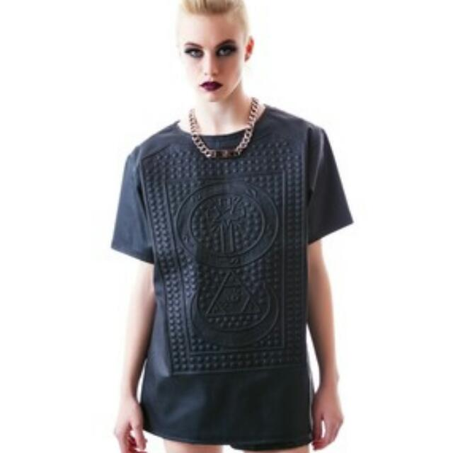 UNIF Braille Tee Size Large
