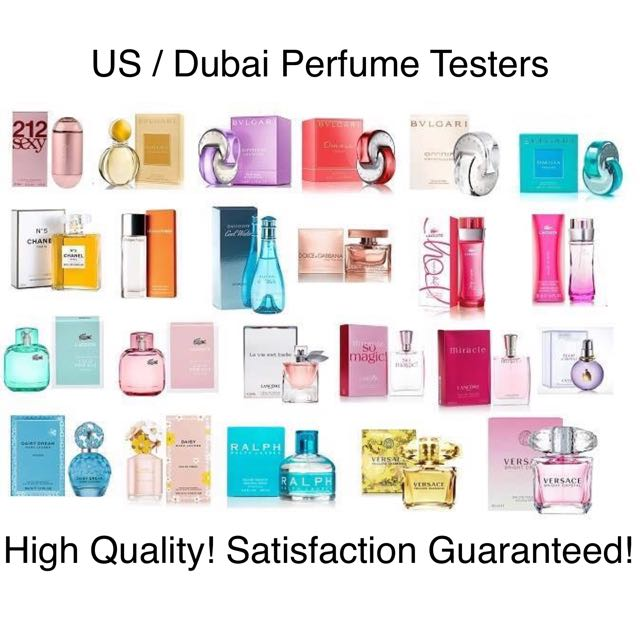 US / Dubai Perfume Testers