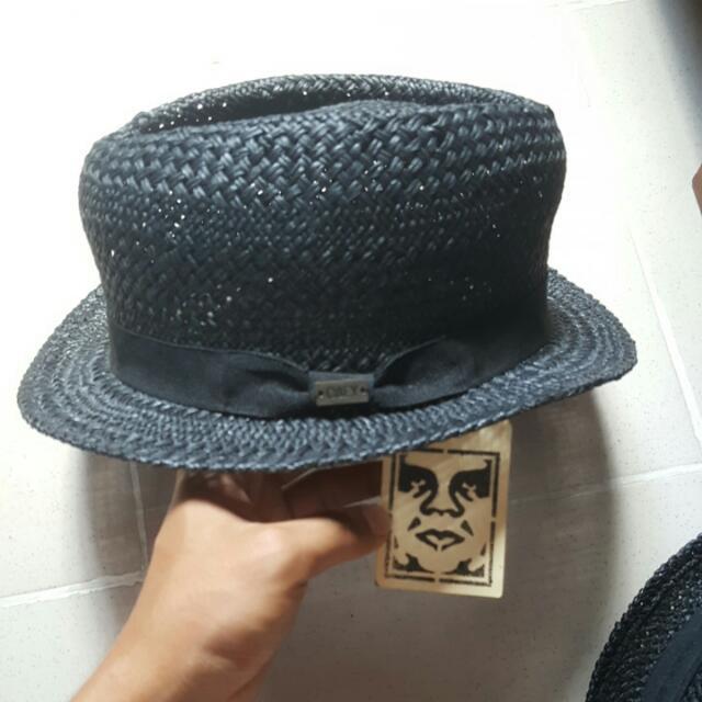 Vans Straw Fedora & OBEY Straw Hat