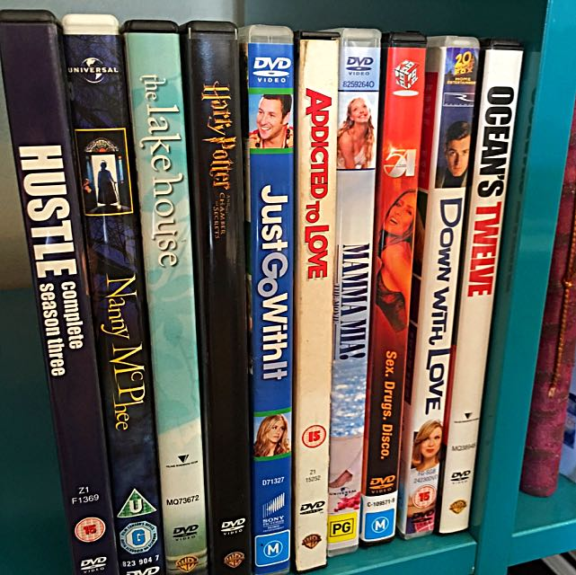 Variety of Comedy/Drama/Chick DVDs