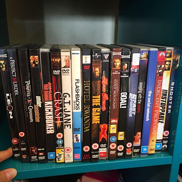 Variety of Drama DVDs
