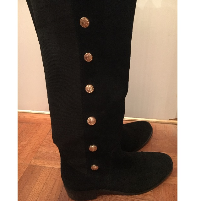 Vince Camuto Suede Knee-High Boots