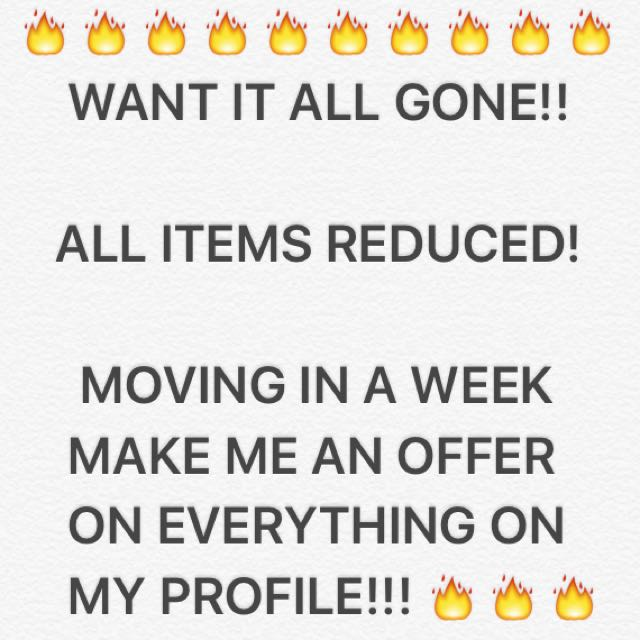 WANT IT ALL GONE 🔥