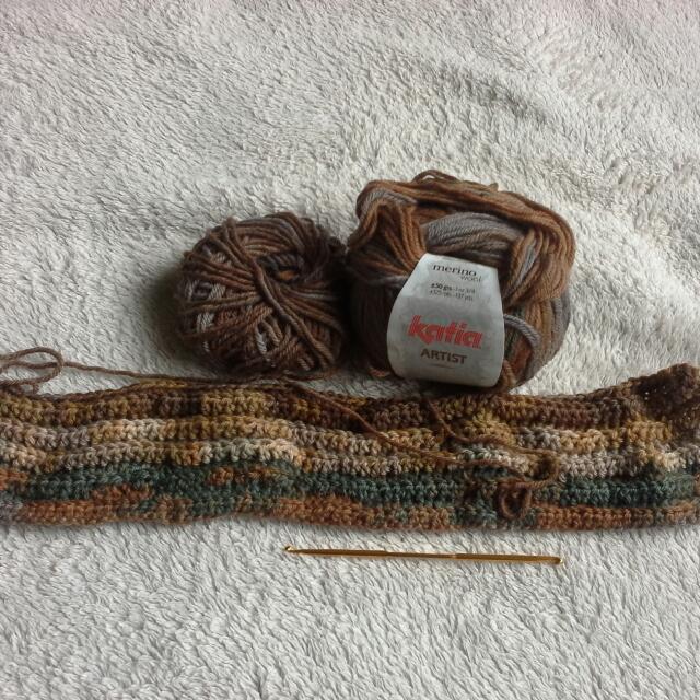 Wool Crochet Set