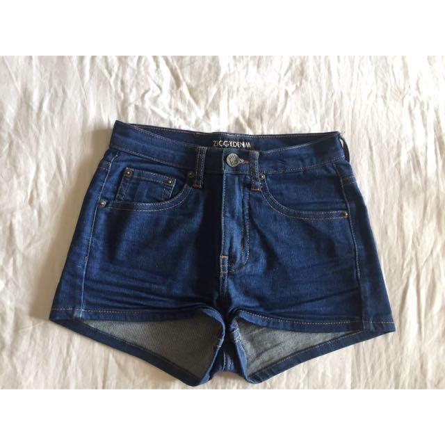 Ziggy Denim High Waisted Shorts