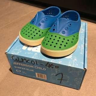 Native Jefferson Child rubber shoes 膠鞋
