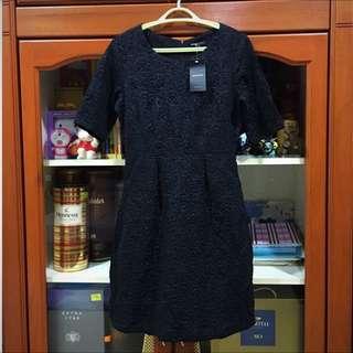 Mango Casual Black Dress
