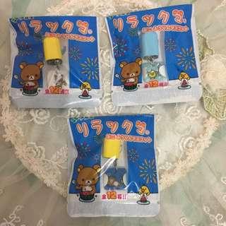 懶熊、拉拉熊日本帶回小風鈴🎐吊飾#夏日九九出清