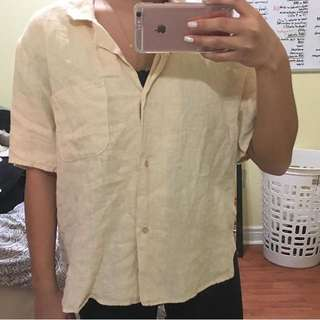 American Apparel Button Up