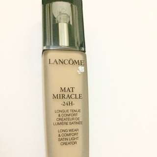Lancome Foundation Mat Miracle 24H
