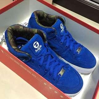 Suede Shoe Skate Sneakers (DC X Aape By Bathing Ape)