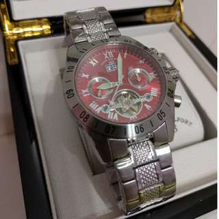 André Belfort Galactique Stainless Sapphire Watch